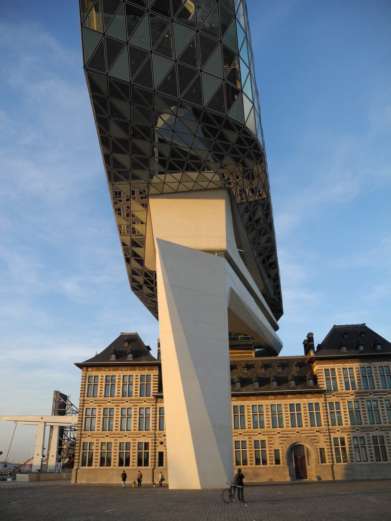 Zaha Hadid: Antwerp, Port House